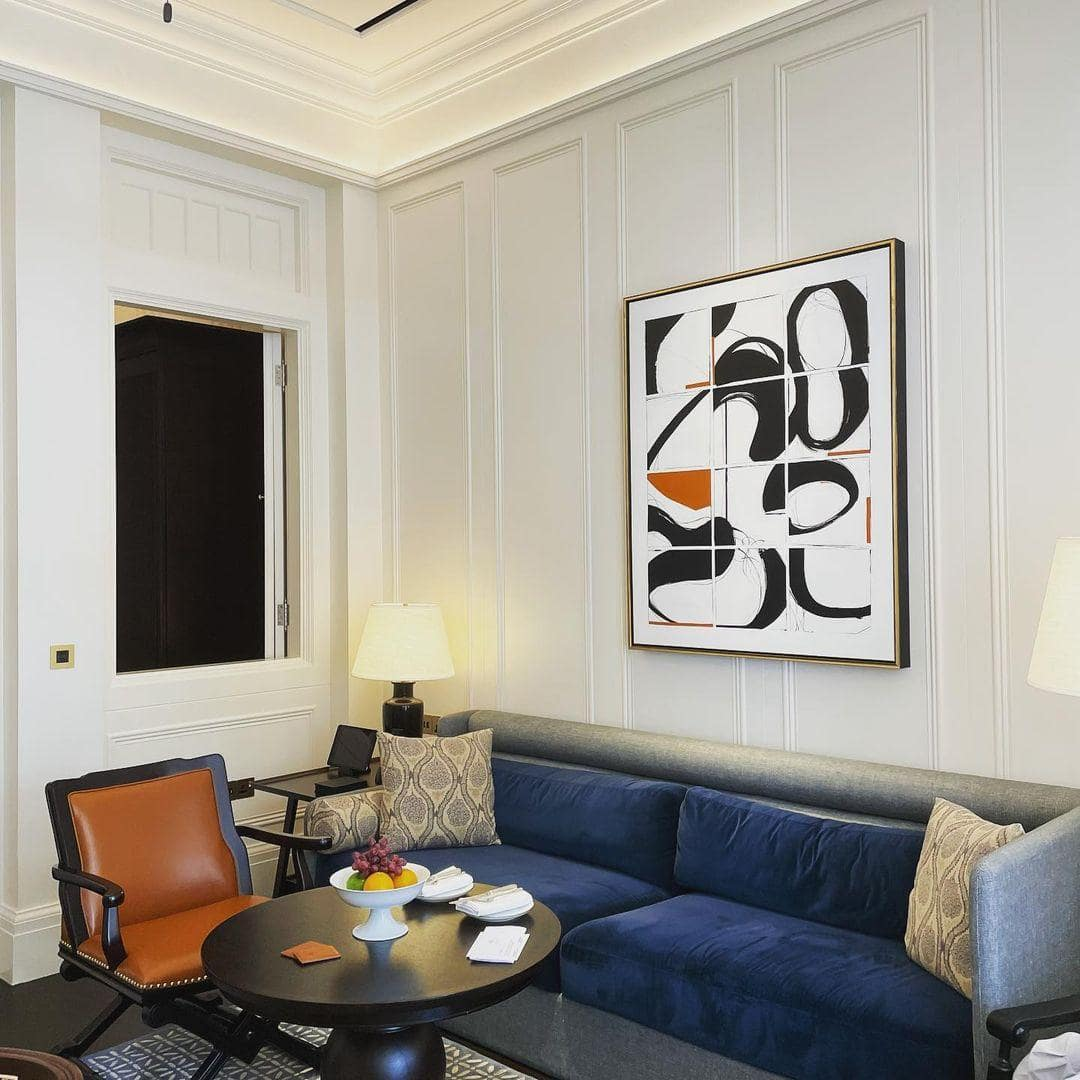 staycation deals - raffles hotel parlour