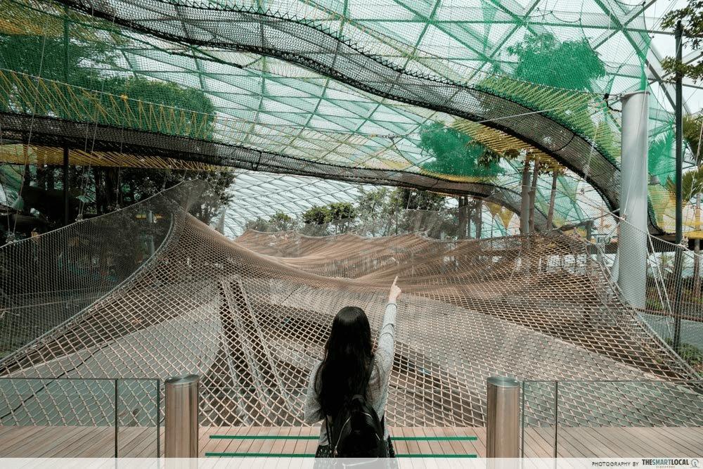 Jewel Changi Airport - Manulife Sky Nets