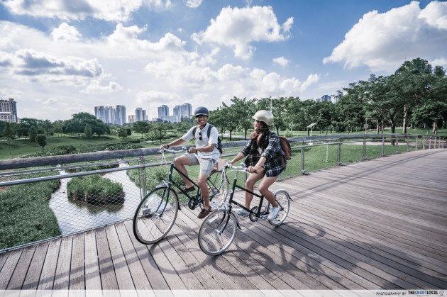 cycling to destress - work burnout singapore