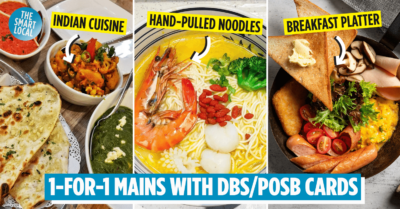 DBS 1-for-1 dining deals