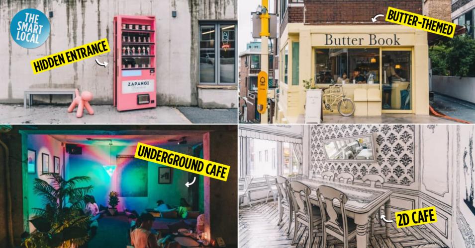 Unique cafes in Seoul