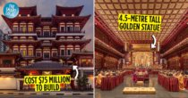 Buddha Tooth Relic Temple: Sacred Temple With A Relic Chamber Made From 320KG Of Gold