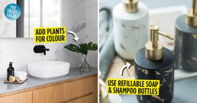minimalist bathroom tips