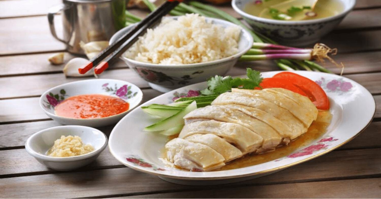 0001 Pin Xiang Hainanese Chicken Rice