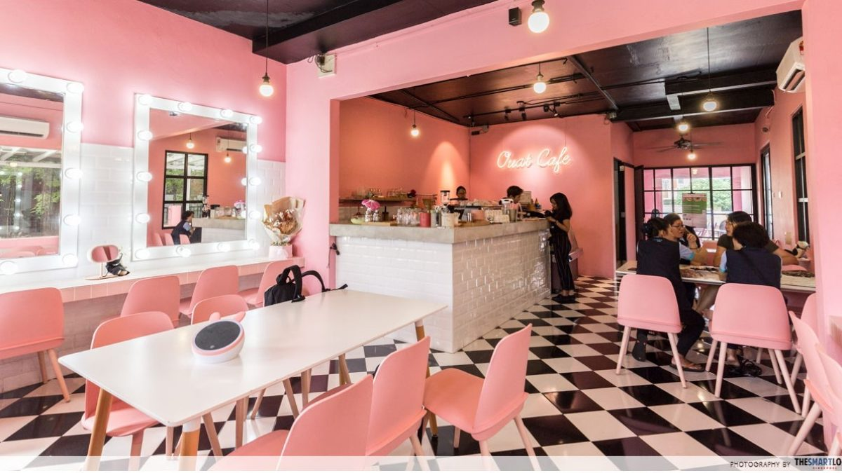 Once Upon A Time Cafe Boutique Millennial Pink Cafe In Jb With Style Nanda Vibes