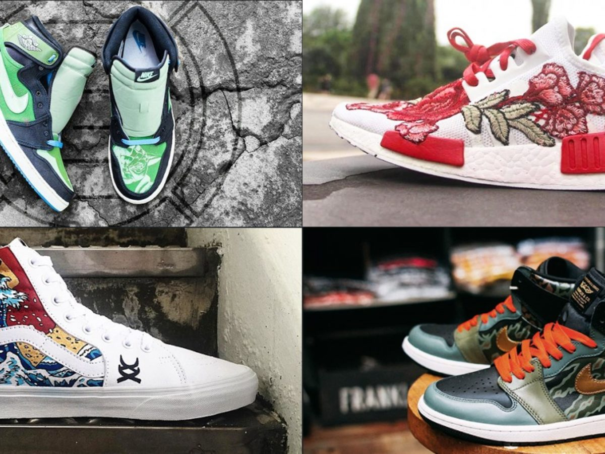 8 Sneaker Customisers In Singapore To