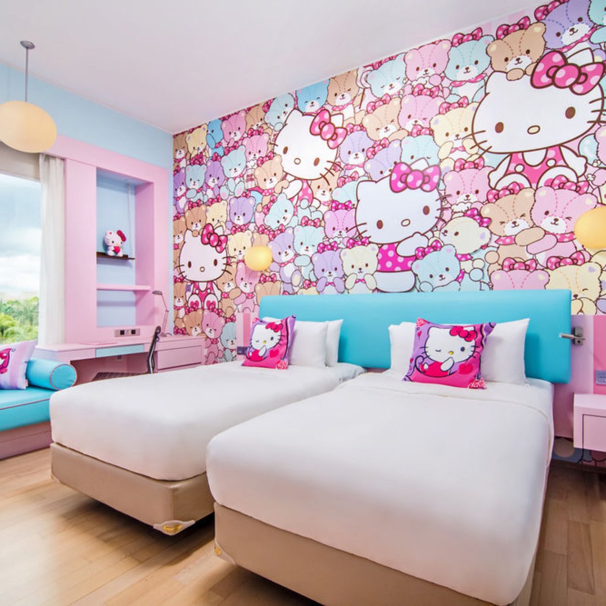 Picture of: 7 Hello Kitty Themed Hotel Rooms In Asia From 31 Night Perfect For Sanrio Lovers