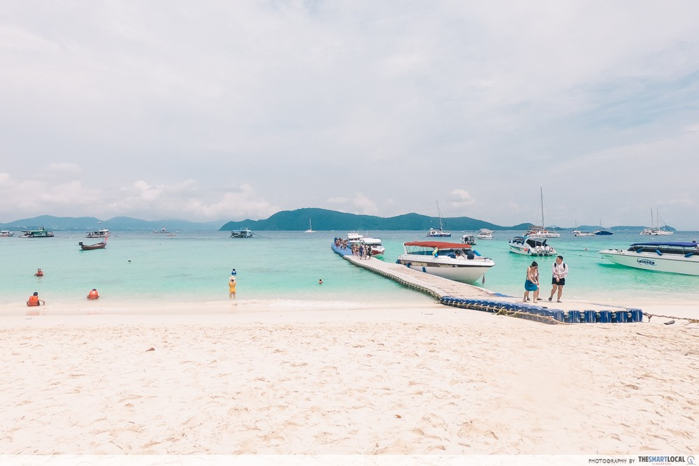 Beach day trips from Phuket - Coral Island