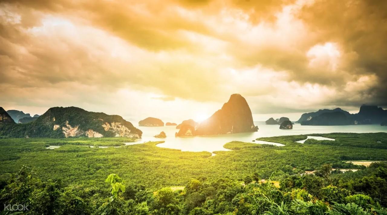 Day trips from Phuket - Khai & James Bond Island