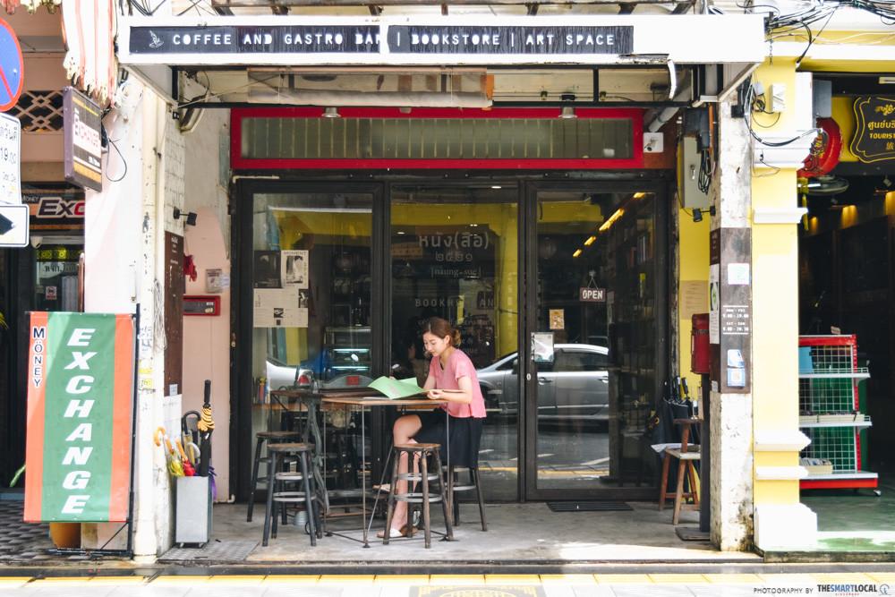 Phuket cafes - Bookhemian