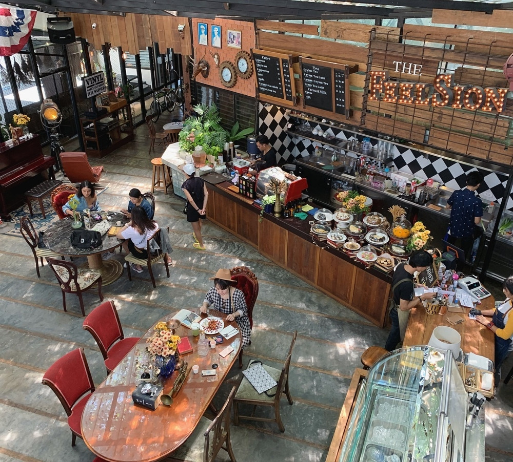 Phuket cafes - The Feelsion Cafe