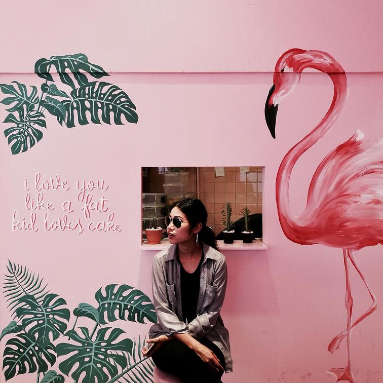 pink planter pinkplanter cafe matchbox pink themed cafe shop bangkok thailand instagrammable