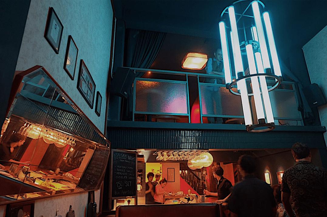 FooJohn Building - Cocktail Bar area