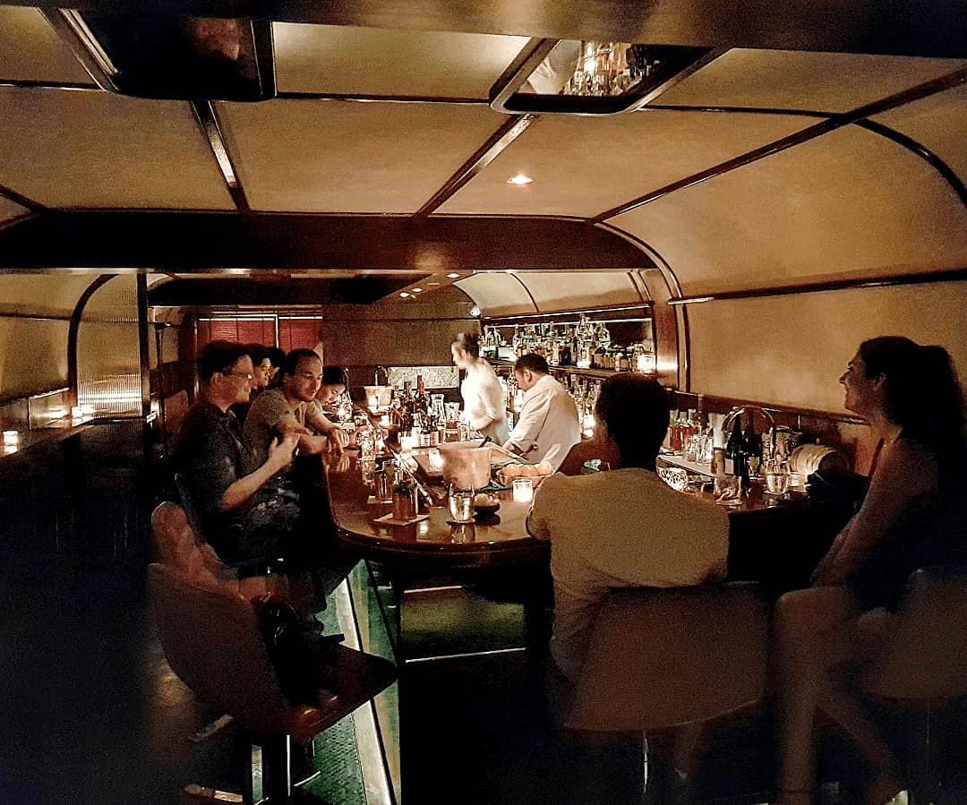 Q&A Bar - Railway Dining Car